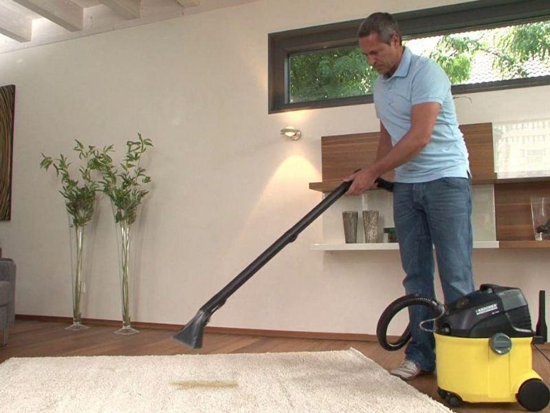 Limpiar alfombra con karcher